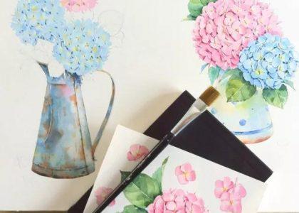 看完這篇水彩繪畫教程,你也可以畫出驚豔的水彩作品!