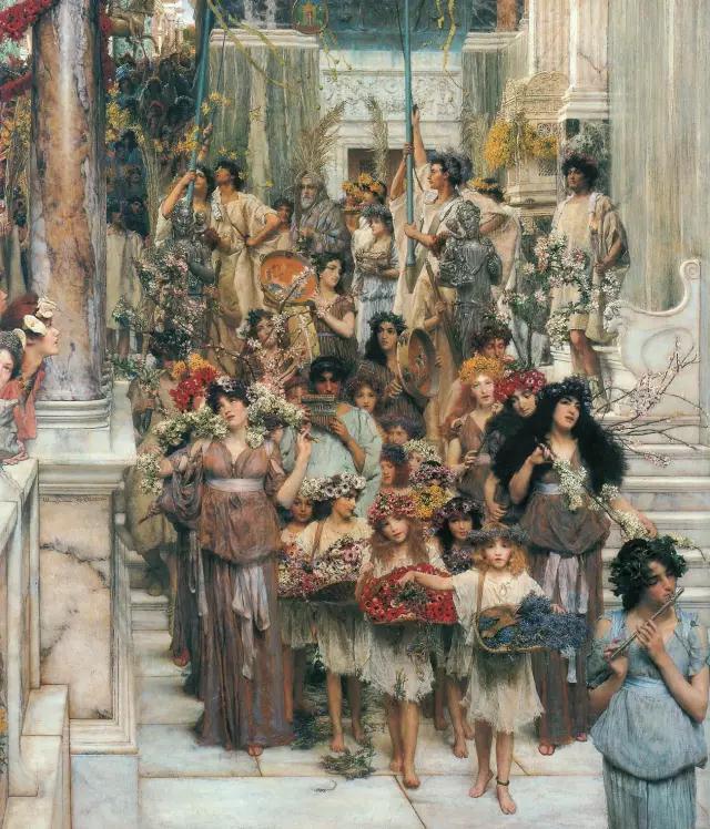 泰德瑪Lawrence Alma Tadema