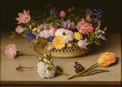 十幅油畫 史上最負盛名的花卉靜物