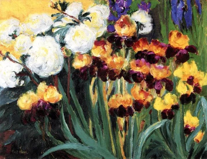埃米爾·諾爾德,芍藥與蝴蝶蘭,1936