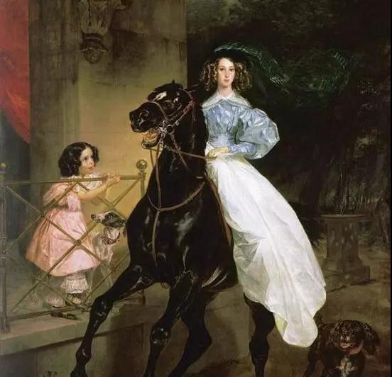 女騎士 布留洛夫
