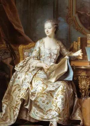 蓬帕杜侯爵夫人像