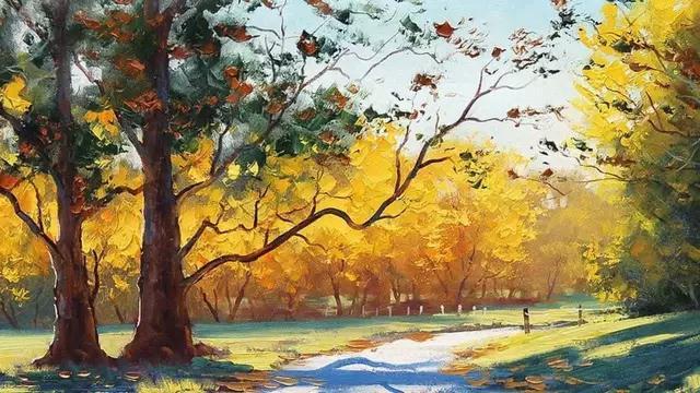 澳大利亞畫家 Graham Gercken 格雷厄姆·格肯清新 油畫