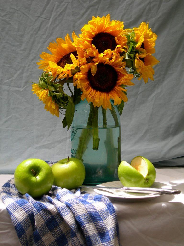 拍攝靜物花藝