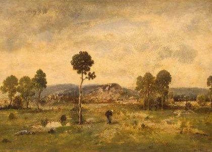 善於表現森林景觀法國巴比松畫派迪亞茲(1808-1876)