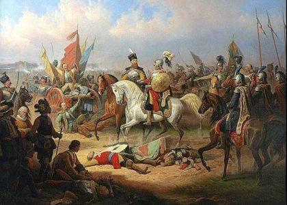 軍事題材作品波蘭畫家蘇霍多爾斯基(1797-1875)