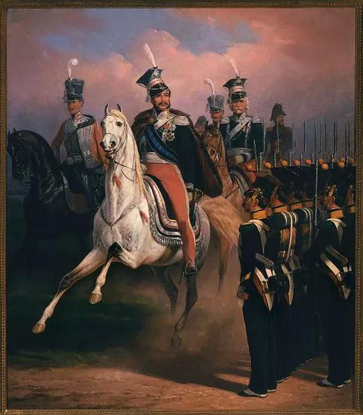 約瑟夫王子的近衛步兵