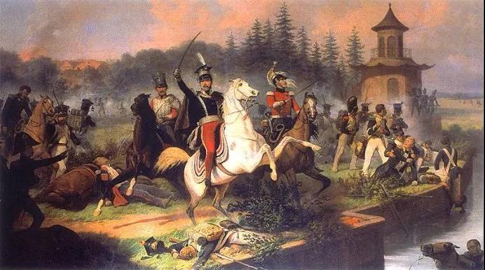約瑟夫王子死在萊比錫戰役