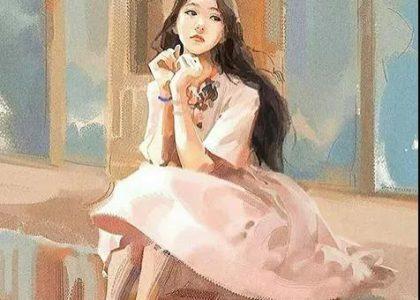 這組女生繪畫作品有光!意境比人更美!
