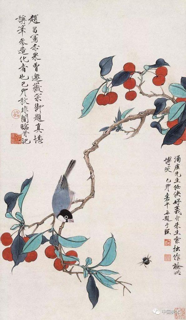 花鳥畫構圖