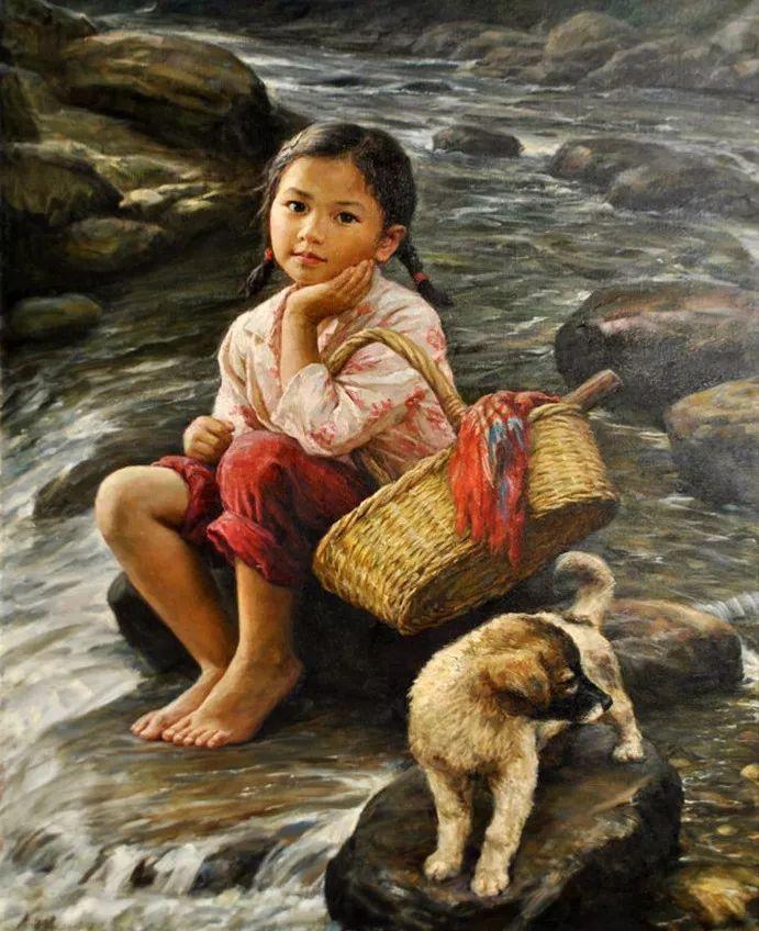 憧憬,從小就會做很多的事情,到河邊洗衣服……