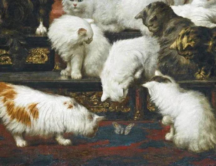 最昂貴的貓咪油畫