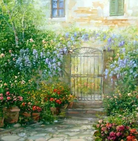 油畫的色彩之美