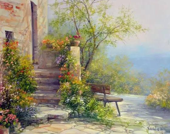 油畫是畫家的心血結晶